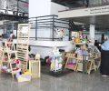 A rede Maternativa, promove a feira de mulheres empreendedoras no Espaço Cultural Renato Russo