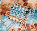dinheiro real montante