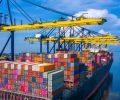 Conteiner exportação embarques